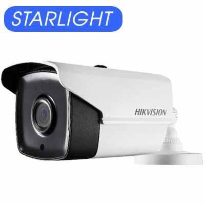 CAMERA HD-TVI 2 MP (D8T) STARLIGHT GIÁ RẺ 0.005 LUX & CHỐNG NGƯỢC SÁNG DS-2CE16D8T-IT5