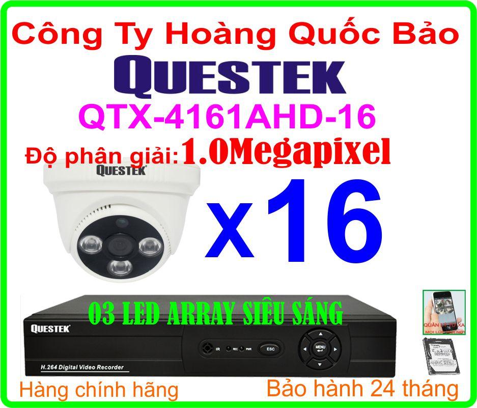 Hệ Thống 16 Camera Khuyến Mãi  QTX-4163AHD - 16CH