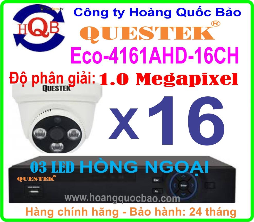 Hệ Thống 16 Camera Khuyến Mãi ECO - 4161AHD - 16CH