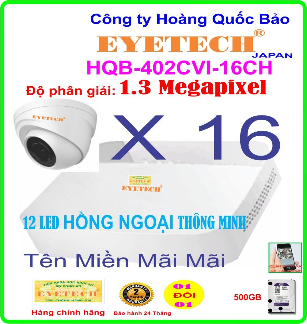 Hệ Thống 16 Camera Khuyến Mãi EYETECH ET-402CVI-16CH