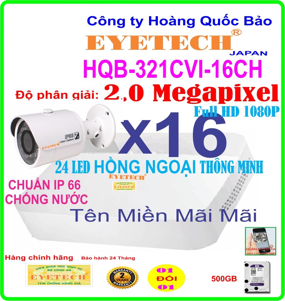 Hệ Thống 16 Camera Khuyến Mãi ET-321CVI-16CH