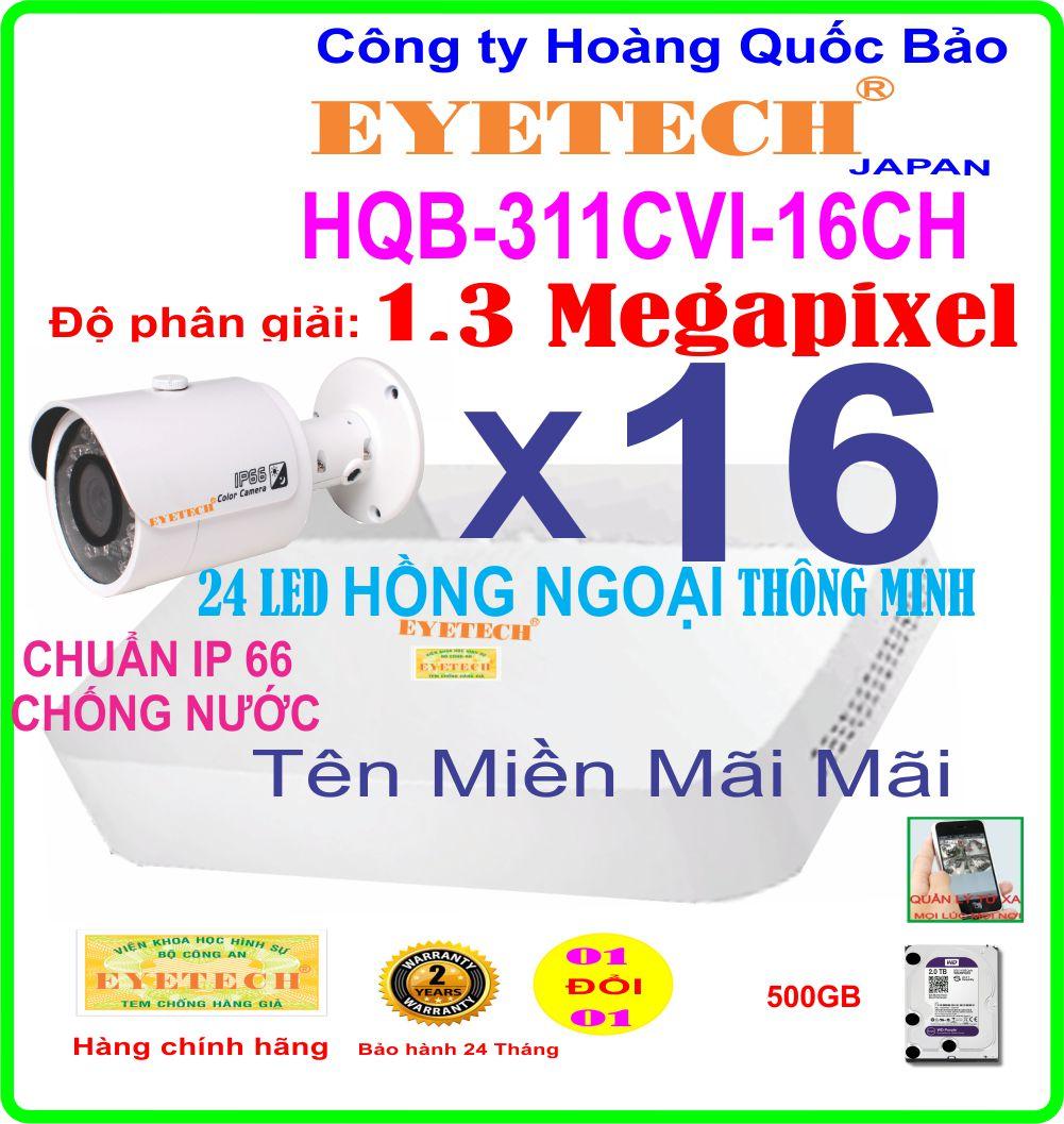 Hệ Thống 16 Camera Khuyến Mãi  311CVI-16ch
