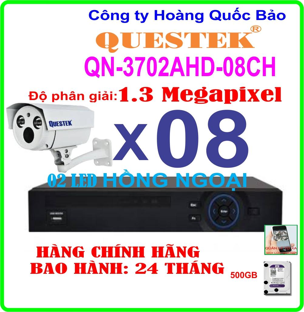 Hệ Thống 8 Camera QN-3702AHD-8CH